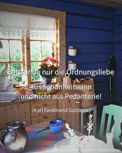 Ordung und mehr Platz schaffen • Foto by Astrid Weittenhiller