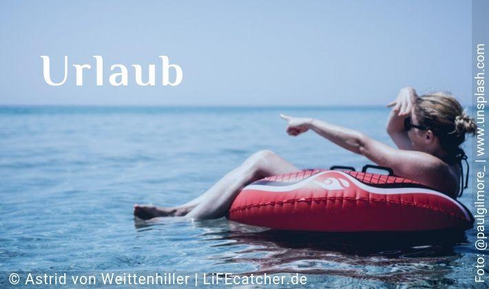 Urlaub • Design by Astrid von Weittenhiller